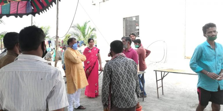 Social work during Coronavirus (COVID-19) in Omerga Osmanabad