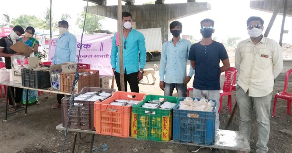 Coronavirus Relief Fund in Umerga, Maharashtra 2020