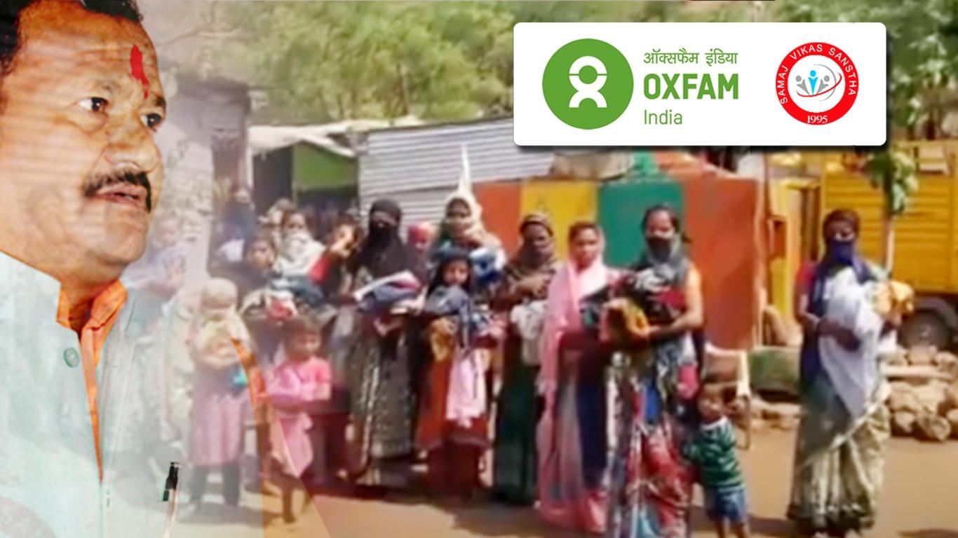 The War Against Coronavirus in Omerga by Samaj Vikas Sanstha NGO